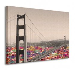 Obraz do salonu - San Francisco Waters