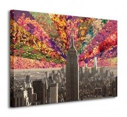 Obraz do salonu - Flowers Of New York
