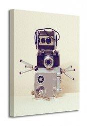 Obraz do salonu - Robot Hands