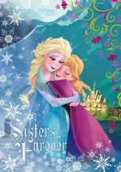 Fototapeta dla dzieci - Kraina Lodu Frozen Anna i Elsa - 254x184cm