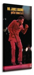 Obraz do sypialni - James Brown (Getting' Down To It)