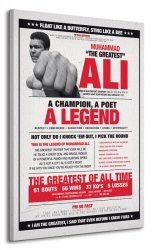 Obraz na płótnie - Muhammad Ali (Vintage - Corbis)