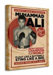 Muhammad Ali (Retro - Corbis) - Obraz na płótnie
