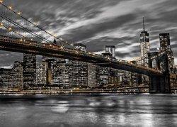 New York Brooklyn Bridge - plakat