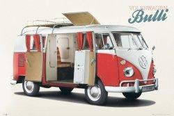 VW Volkswagen Camper Bulli - plakat