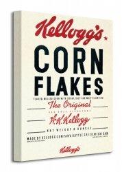 Vintage Kelloggs (Corn Flakes) - Obraz na płótnie