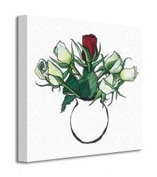 Red Rose - Obraz na płótnie