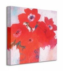 Anemone Red - Obraz na płótnie