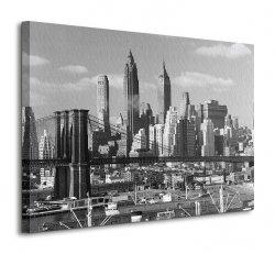 Time Life (Lower Manhattan Skyline 1948) - Obraz na płótnie