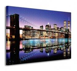 Brooklyn Bridge (Colour) - Obraz na płótnie