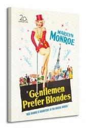 Marilyn Monroe (Gentlemen Prefer Blondes) - Obraz na płótnie