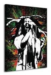 Bob Marley (Paint) - Obraz na płótnie