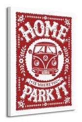 Snowdon Designs (Home Is Where You Park It) - Obraz na płótnie