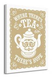 Snowdon Designs (Where There's Tea There's Hope) - Obraz na płótnie