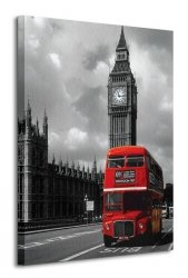 Obraz na ścianę - London Red Bus - 60x80 cm