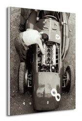 Ferrari Mechanic, French GP, 1954 - Obraz na płótnie