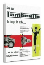 Lambretta (Do things in Style) - Obraz na płótnie