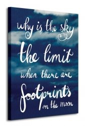 Why Is The Sky The Limit - Obraz na płótnie
