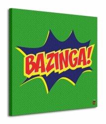 The Big Bang Theory (Bazinga Icon) - Obraz na płótnie