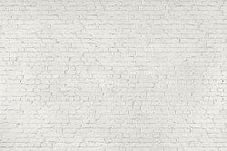 Fototapeta na ścianę - Biała Cegła - Ściana z cegły - 315x232cm