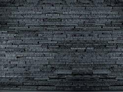 Fototapeta - Ciemny Kamień - Ściana z kamienia - 315x232cm