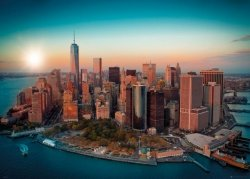New York 1 World Trade Center Manhattan - plakat