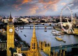 Londyn Panorama - plakat