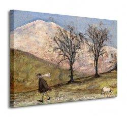 Obraz na płótnie - Walking With Mansfield - 80x60cm