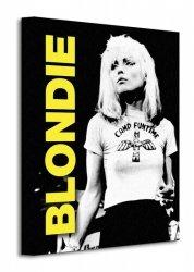 Obraz na płótnie - Blondie (Live)  - 30x40cm