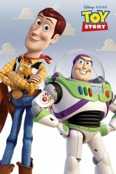Toy Story Woody i Buzz - plakat