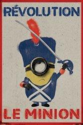 Minionki Rewolucja Gwardia Królewska - plakat