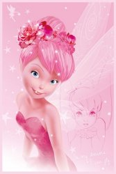 Disney Wróżki (Tink Pink) - plakat