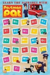 Listonosz Pat - Alfabet - plakat