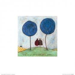 Ernest Violet i Doris Krajobraz - reprodukcja