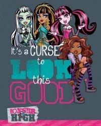 Monster High - Lalki - plakat