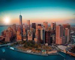 New York - One World Trade Center Manhattan - plakat