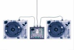 Fototapeta na ścianę - X Ray DJ Decks - 232x158 cm