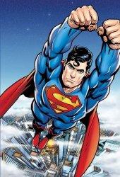 Fototapeta dla chłopca - Superman - 158x232 cm