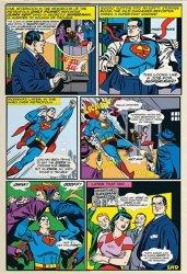 Fototapeta dla dzieci - Superman Komiks - 158x232 cm