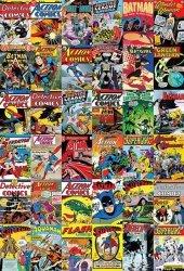 Fototapeta - DC Comics - Okładki komiksów - 158x232 cm
