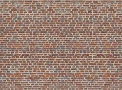 Fototapeta na ścianę - Imitacja Cegły - Czerwona cegła - 315x232 cm