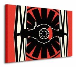 Star Wars Episode VII (TIE Fighter Pop Art) - obraz na płótnie