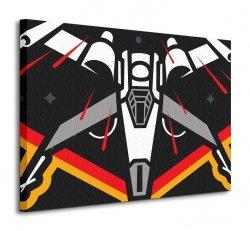 Star Wars Episode VII (X-Wing Icon) - obraz na płótnie