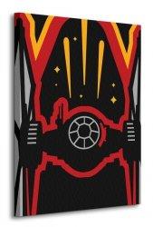 Star Wars Episode VII (TIE Fighter Icon) - obraz na płótnie