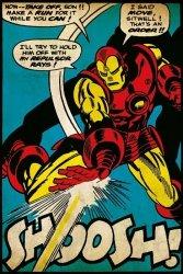 Iron Man - Uderzenie - plakat