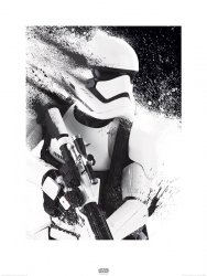 Star Wars The Force Awakens Stormtrooper - reprodukcja
