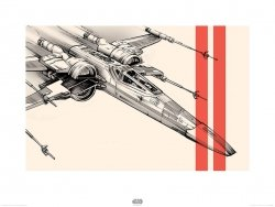 Star Wars The Force Awakens X-Wing - reprodukcja