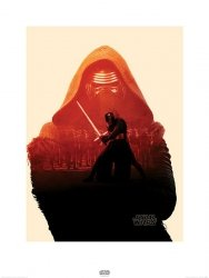 Star Wars The Force Awakens Kylo Ren - reprodukcja