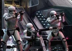 Fototapeta ścienna - Star Wars 7 The Force Awakens - 368x254cm
