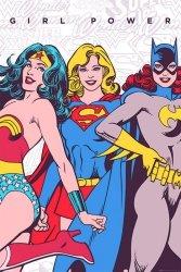 DC Comics (Girl Power) - plakat